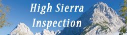 High Sierra Inspection Logo North Fork Chamber Member
