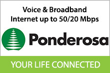 Ponderosa Telephone Logo North Fork Chamber of Commerce Member
